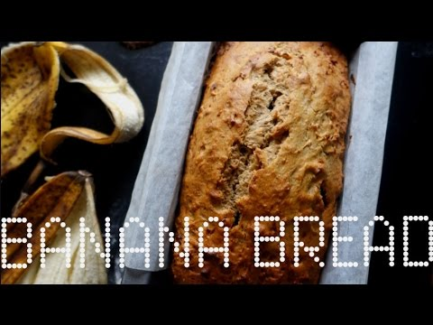 BEST EVER VEGAN BANANA BREAD!