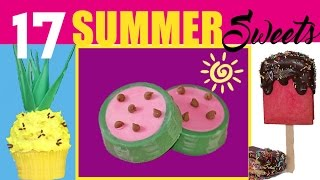 15 Summer Treats! Popsicles, Ice Creams, Pineapples, Watermelons AND MORE! Lots More...