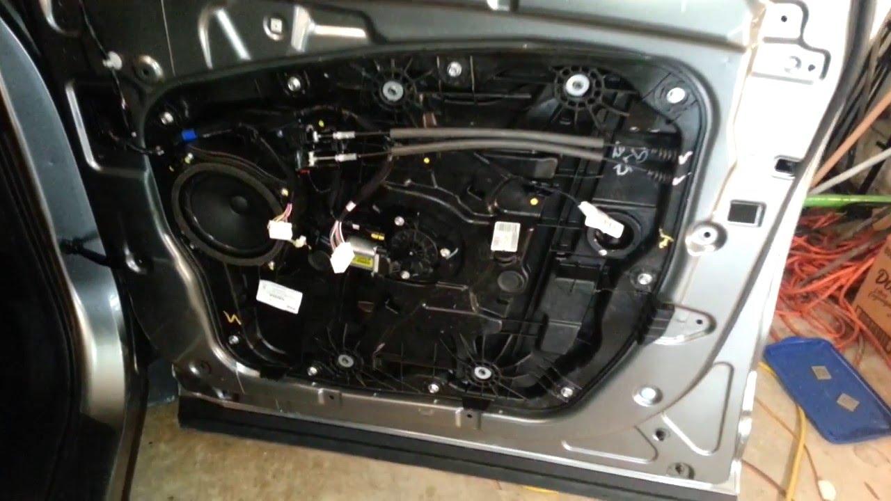 2013 2016 Hyundai Santa Fe Metal Door Frame Interior