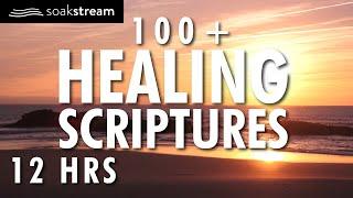 100+ Healing Scriptures With Soaking Music | Audio Bible | Instrumental Worship Music | 12 HRS 2020 screenshot 5