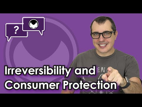Bitcoin Q&A: Irreversibility and consumer protection