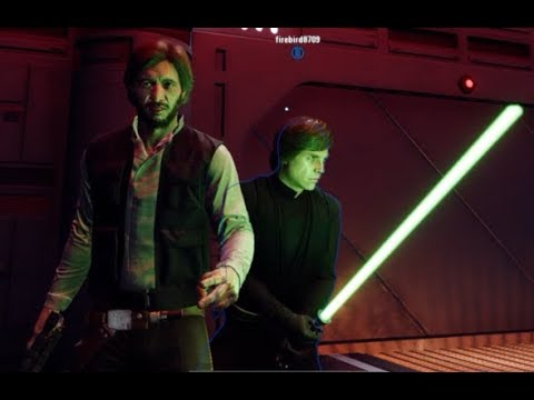 Star Wars Battlefront 2 Heroes Vs Villains 628 Han Solo MVP thumbnail