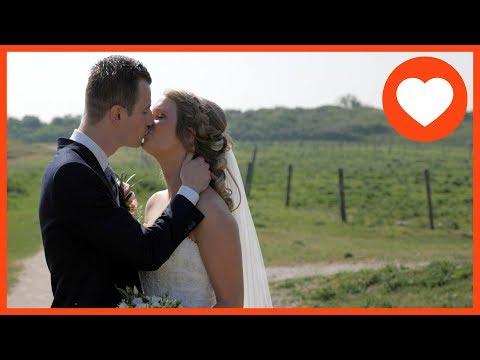 Trouwfilm | Trouwvideo | SandcBar Katwijk Zuid Holland | Gerald & Rianda ♥ 25 mei 2018 streaming vf
