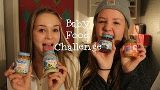 Baby Food Challenge⎮ft. Nora Thumbnail