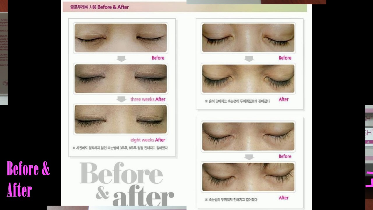 Glowlash Eyelash Eyebrow Conditioner Serum