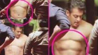 Shocker! Salman Khan's 6 pack abs fake?