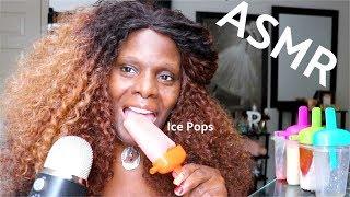 Trying Ice Eating ASMR Soft Crunch Treat