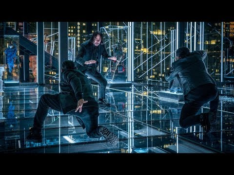 John Wick 3: Fight Scene (Yayan Ruhian & Cecep Arif Rahman)-Part 1-Best Movies Clips