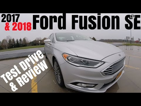 2017 2018 Ford Fusion Se 0 60 Review