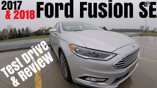 2017 / 2018 Ford Fusion SE 0-60 & Review