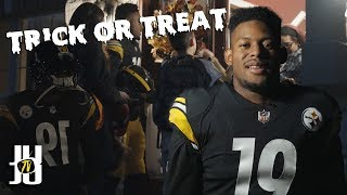 Trick or treating was lit! SUBSCRIBE and click the Bell! Produced b...