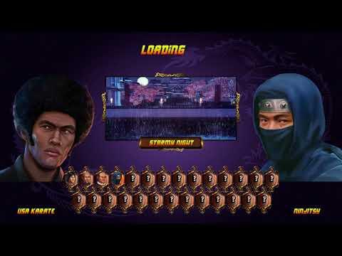 Shaolin vs Wutang USA KARATE ARCADE (VERY HARD) |