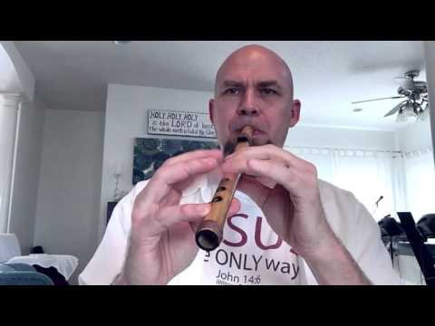 "Excellent Easy To Play Beginners Bamboo Flute - ""Sweet B"""