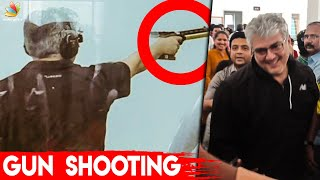 Ajith Shooting At Rifle Championship I Nerkonda Paarvai I Latest Tamil Cinema News