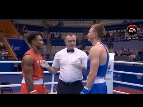 Европейские Игры 2019 - 91 кг - Шевон Кларк Великобритания - Смягликов Влад Беларусь