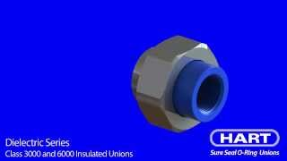 HART Dielectric (Insulated) Series - Class 3000 and 6000 Unions