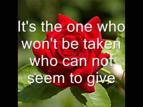 Leann Rimes-The Rose with lyrics