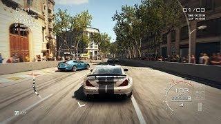 Grid Autosport PC: Multiplayer Race - Mercedes-Benz SL65 AMG Black in Barcelona, Street Discipline