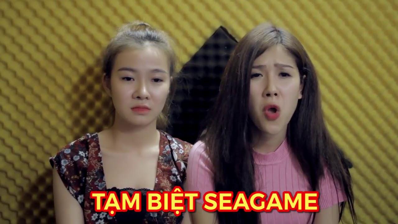 SEAGAME 30- Hai cô gái xinh đẹp hát bài Tạm biệt ''Seagame 29 ''