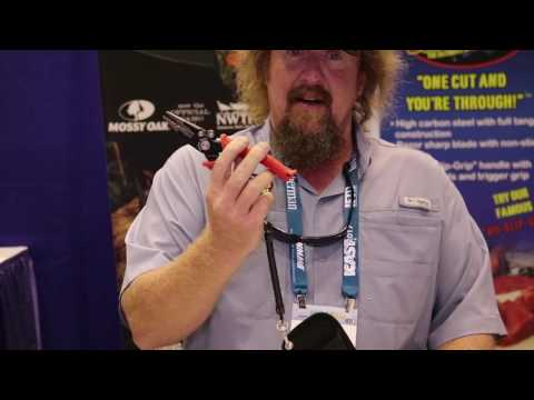Bubba Blade 7.5 Inch Fishing Pliers at ICAST 2017