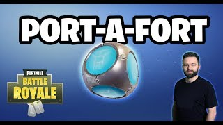 🔴 Fortnite - Nowy Patch - Port-a-Fort - Zapraszam!