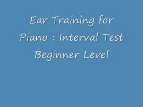 RCM Piano Ear Test - Intervals : Beginner Level