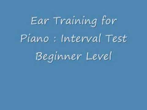 RCM Piano Ear Test - Intervals : Beginner Level