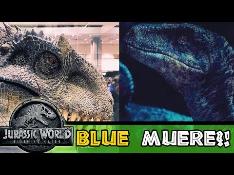 Blue Muerte Por Indoraptor En Jurassic World 2
