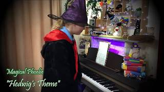 Phoebe performing Hedwig's Theme