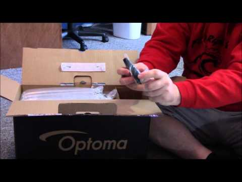 Optoma HD131xe Unboxing