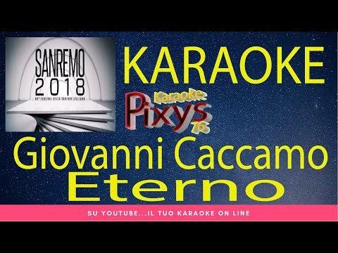 Giovanni Caccamo - Eterno Karaoke Sanremo 2018
