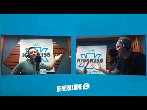 Tiziano Ferro ospite di Radio Kiss Kiss in Generazione C - 28.11.2017