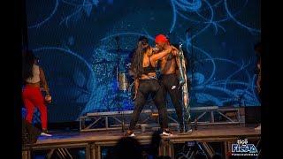 Jux na Vanessa Wakiimbiana Kimahaba Tigo Fiesta Dodoma