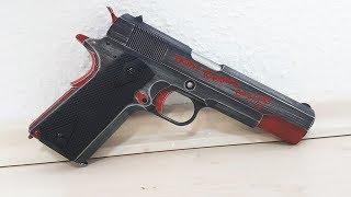 AIRSOFT PISTOLE für BÖSE JUNGS! - Unboxing und schießen der AW CUSTOM M1911 Red (Co2 | deutsch)