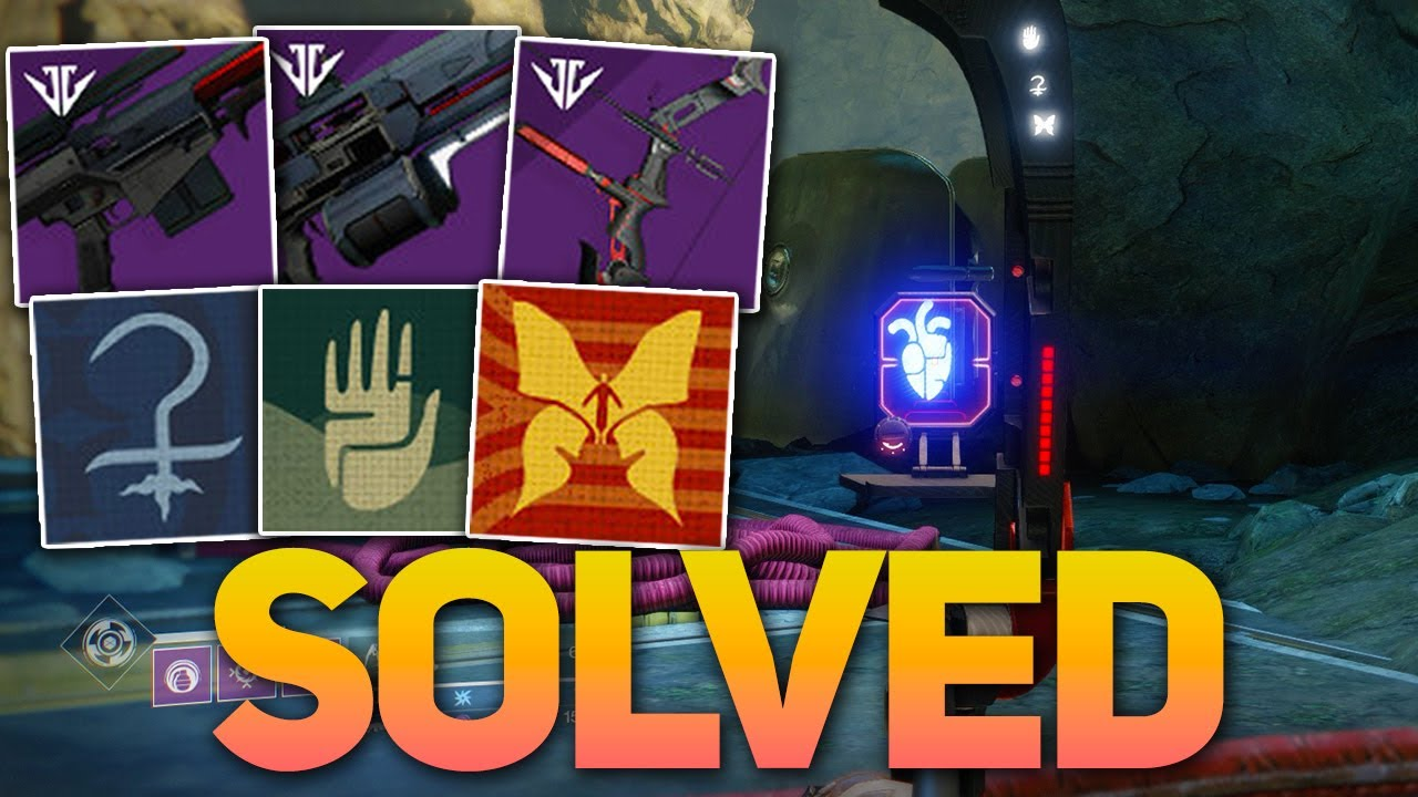 Unlock All 3 Black Armory Family Emblems & Complete Beacon Puzzle! (Destiny  2)