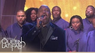 The 3 Winans Brothers Perform Trust In God  The Queen Latifah Show