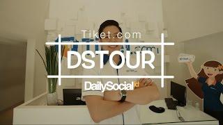 Mengunjungi Kantor Tiket.com | DStour #5