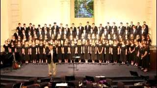 "Mississippi Baptist All-State Youth Choir & Orchestra 2012   ""SIYAHAMBA"""