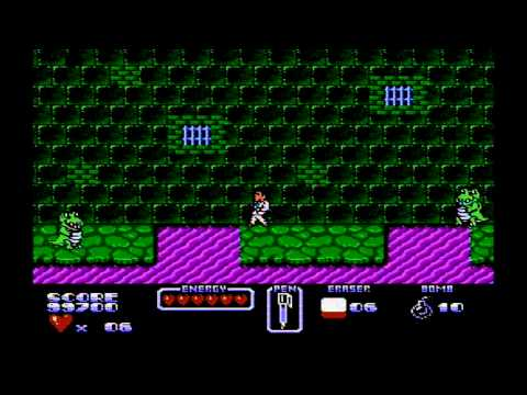 Cool World (NES) Full No Death Play Through
