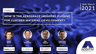 How is the Aerospace Industry Pushing for Further Material Development? | ADDITIV Aerospace