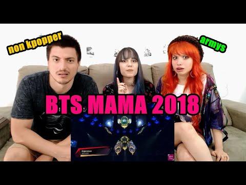 REACTION l BTS (방탄소년단) FAKE LOVE + ANPANMAN MAMA 2018 in Japan + Non kpopper