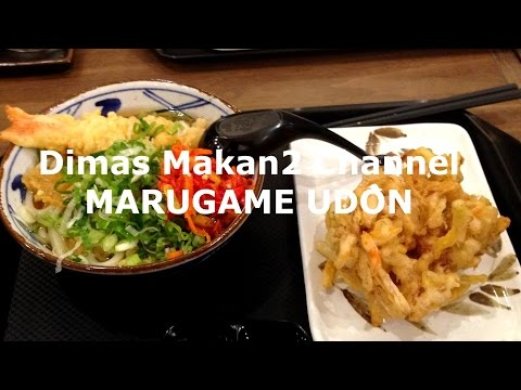 Dimas Makan2 Channel Marugame Udon