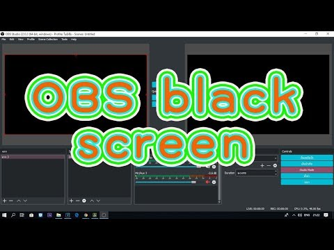 obs display capture black screen