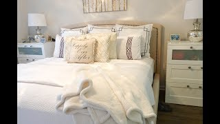 Exactly How I Make My Bed In 5 Minutes | Where Everything Is From |