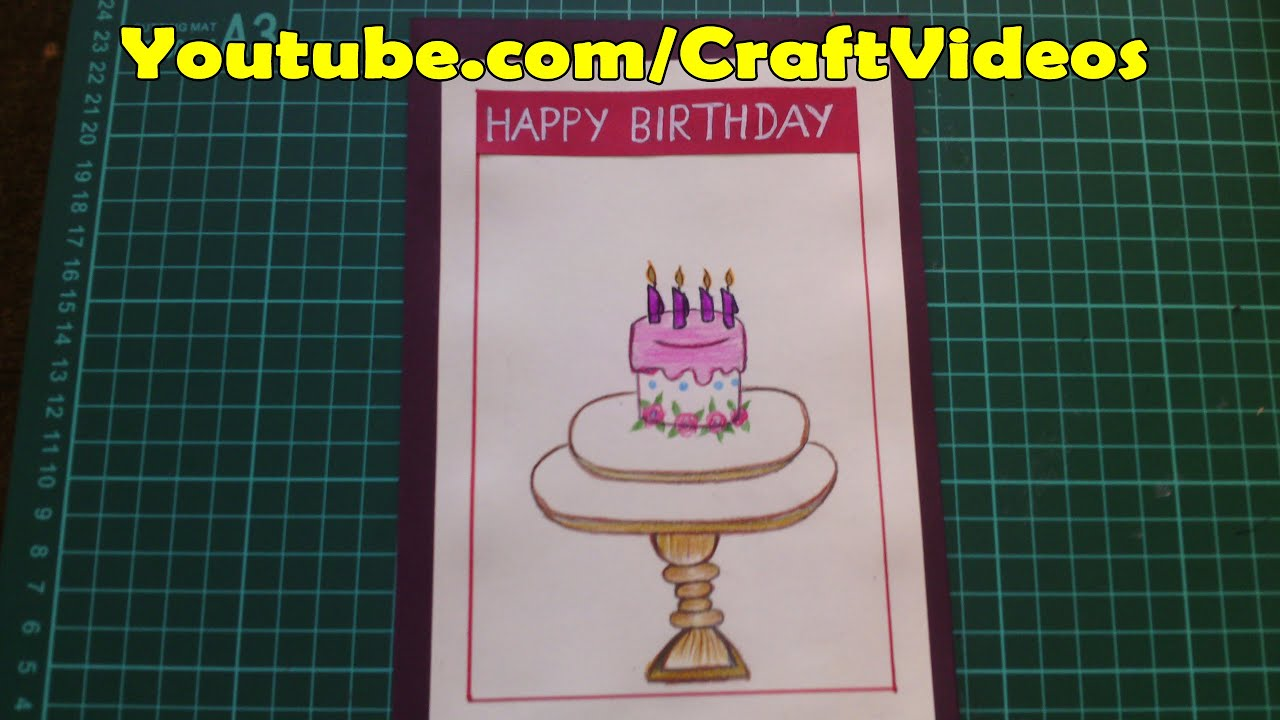 Birthday Cards For Mom YouTube – Happy Birthday Cards Youtube
