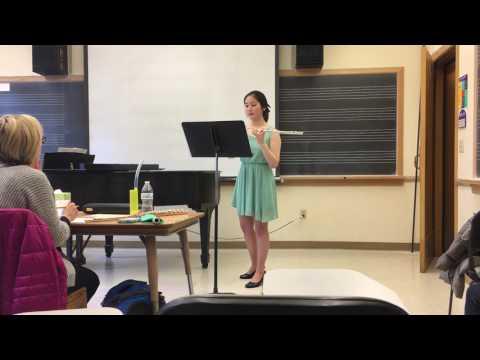 Hue Fantasy -- Hannah Ko (flute)   2017 Seattle Young Artists Music Festival