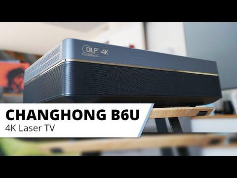 Der Changhong B6U - Laser TV der Extraklasse. Großes Kinobild aus kleiner Box!