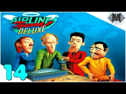 AIRLINE TYCOON DELUXE ★ #14 Feindliche Übernahme ★ [Let's Play][Deutsch German Gameplay][HD+]