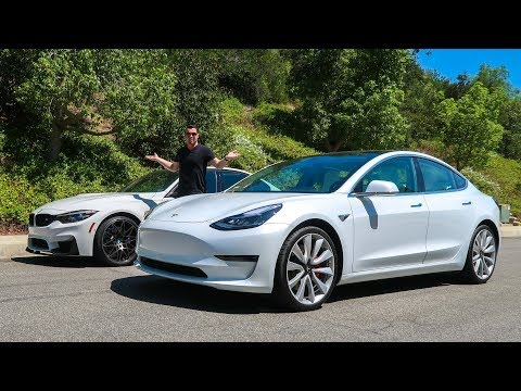 The $75,000 Tesla Model 3 Performance Is BETTER Than An M3