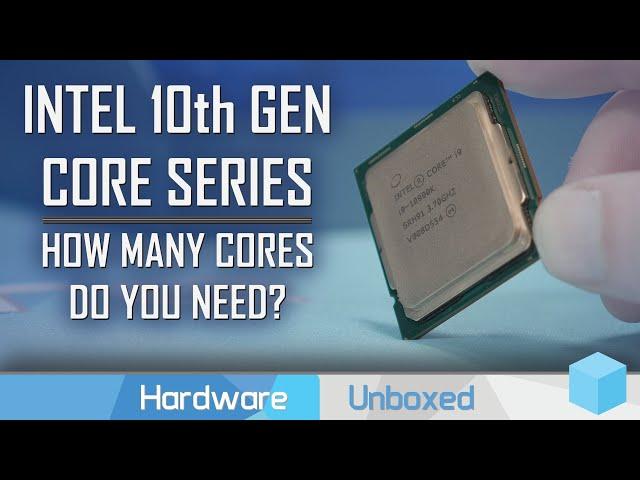 Intel 4, 6, 8 & 10-Core CPUs Compared, 10th gen Core Family Review